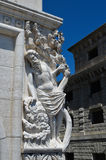 Statiue a Venezia, Italia Immagini Stock Libere da Diritti