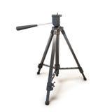 Stativ für Kamera oder Kamerarecorder Lizenzfreie Stockfotos