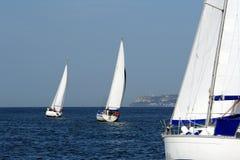 Statków TARGET37_1_ Jachty Obraz Royalty Free