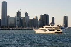 statków wycieczkowych drapacze chmur Zdjęcie Royalty Free