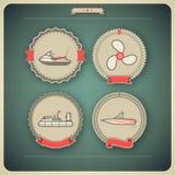Statki i łodzie ilustracji