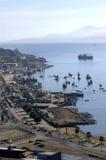 Statki i łodzie w schronieniu Fotografia Stock