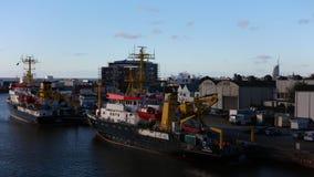 Statki Morska i Hydrograficzna BSH Federacyjna agencja w Bremerhaven, Niemcy zdjęcie wideo