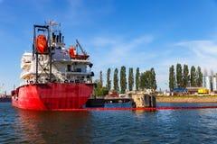 Statki ochraniający wycieki ropy zdjęcia royalty free