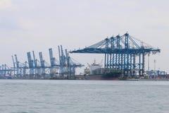 Statki przy Northport, Klang, Malezja - serie 2 Obrazy Royalty Free