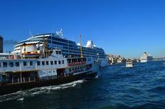 Statki w Istanbuł Obraz Stock