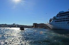 Statki w Istanbuł Obraz Royalty Free