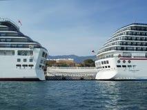 Statki wycieczkowi w Acapulco Fotografia Royalty Free