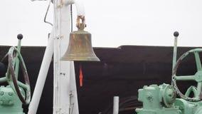 Statku dzwon na pokładzie zbiory
