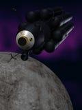 statku kosmicznego. Obraz Royalty Free