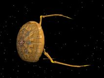 statku kosmicznego. Fotografia Stock