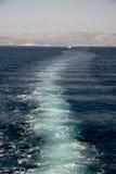 statku ślad Fotografia Royalty Free