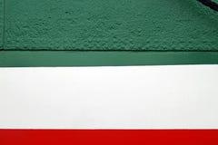 Statku ` s strona, zamyka up, abstrakcjonistyczny szczegół Zdjęcie Royalty Free