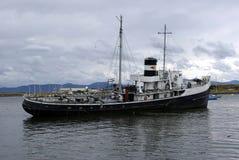 statku stary ushuaia Zdjęcia Royalty Free