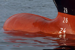 statku stern obraz stock