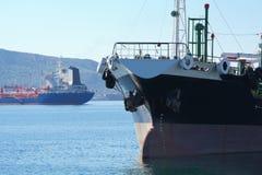 Statku stern i łęk zdjęcia royalty free