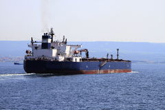 statku tankowiec Fotografia Stock