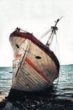 statku wrak Zdjęcie Royalty Free