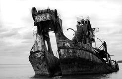 statku wrak obrazy stock