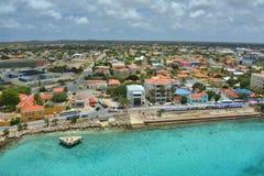 Statku wycieczkowego port w Bonaire Zdjęcia Stock
