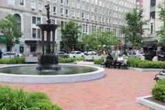 Statler公园,波士顿 免版税库存图片