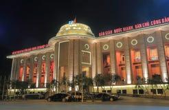 Statlig bank av Vietnam Hanoi Royaltyfria Foton