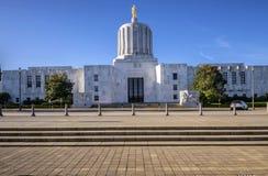 Statlig capitol som bygger Salem Oregon Arkivfoton