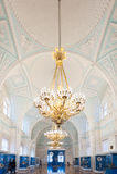Statlig eremitboning, St Petersburg, Ryssland Royaltyfri Fotografi