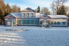 Statlig historisk konstnärlig och litterär museumreserv Abramtsevo Arkivfoton