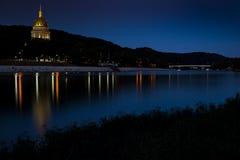 Statlig Kapitoliumbyggnad - charleston, West Virginia royaltyfri foto