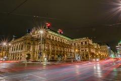 Statlig opera av Österrike i Wien Arkivbild