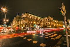 Statlig opera av Österrike i Wien Royaltyfria Foton