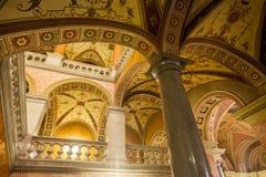 Statlig opera Budapest för ungrare Arkivfoto