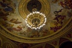 Statlig operahus för ungrare royaltyfria bilder