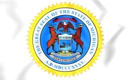 Statlig skyddsremsa av Michigan, USA royaltyfri illustrationer