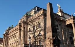 Statlig teater av Wiesbaden royaltyfri foto