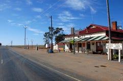 Statliga Australien gränsar petrol posterar royaltyfria foton