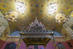 Statligt historiskt museum, Moskva, Ryssland Arkivfoto