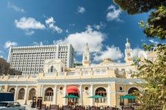 Stato Corridoio filarmonico dell'Azerbaigian sopra Fotografia Stock