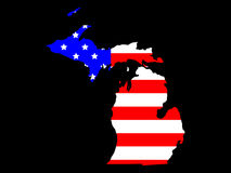 Stato del Michigan Fotografia Stock Libera da Diritti