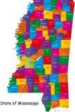 Stato del Mississippi royalty illustrazione gratis