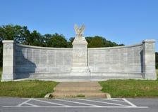 Stato del monumento di New York, a Gettysburg, la Pensilvania Fotografia Stock