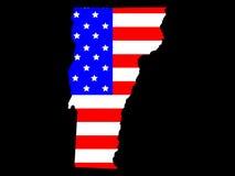 Stato del Vermont illustrazione di stock