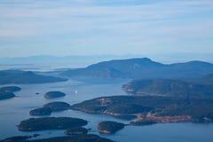 Stato del Washington delle isole di San Juan Immagine Stock Libera da Diritti