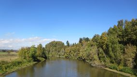 Stato del Washington nazionale della riserva di Ridgefield Fotografie Stock
