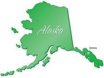 Stato dell'Alaska Fotografia Stock Libera da Diritti
