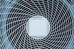 Stato dell'aria della bobina del ventilatore fotografia stock libera da diritti