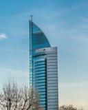Stato della torre di telecomunicazioni dell'Uruguay Fotografia Stock Libera da Diritti