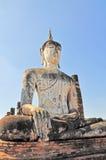 Stato di Buddha al tempio di Famen Fotografia Stock Libera da Diritti