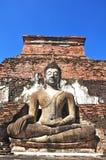 Stato di Buddha al tempio di Famen Immagini Stock